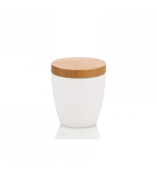 KELA NATURA Ceramiczny pojemnik na płatki kosmetyczne ⌀ 10 cm