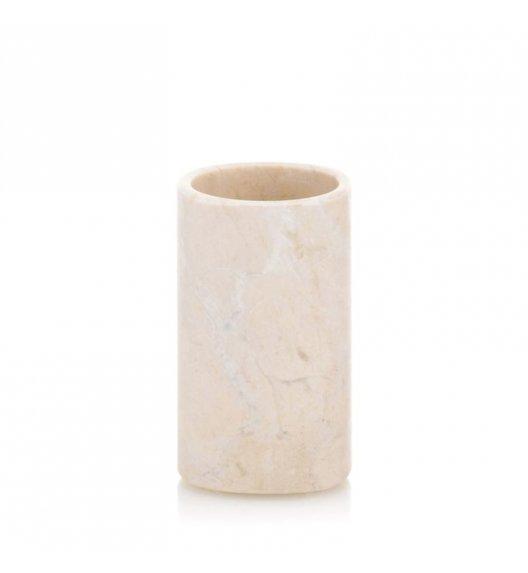 KELA MARBLE Kubek łazienkowy ⌀ 6,5 cm / marmur karraryjski