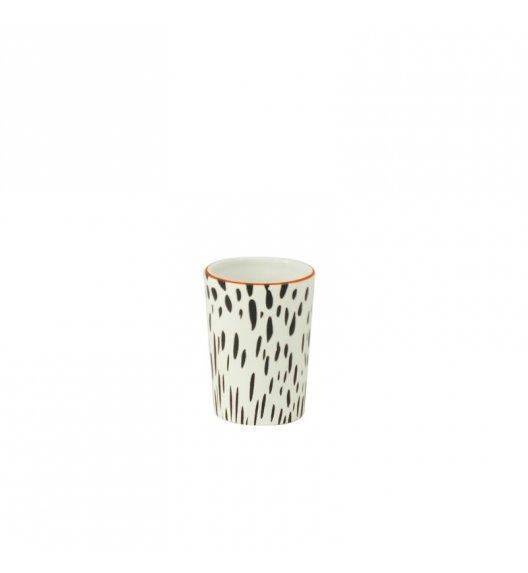 KELA Ceramiczny kubek FANNY biało-czarny / FreeForm