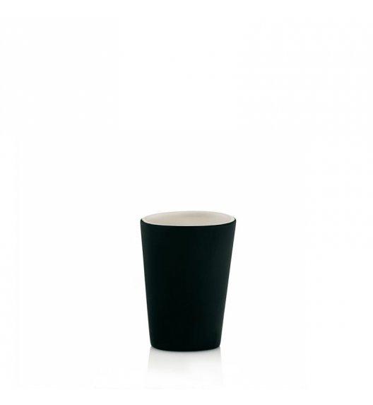 KELA Ceramiczny kubek łazienkowy POLLUX czarny / FreeForm