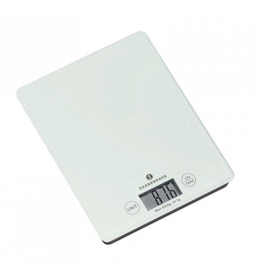 ZASSENHAUS Cyfrowa waga kuchenna BALANCE biała / FreeForm