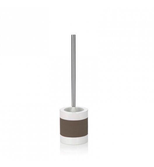 KELA Ceramiczny zestaw do WC LALETTA szarobrązowy / FreeForm