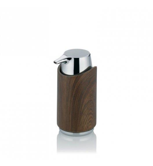 KELA FILLIS Dozownik na mydło w płynie 200 ml / imitacja drewna