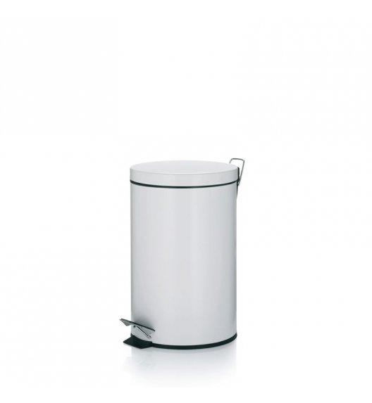 KELA Kosz na śmieci otwierany pedałem CORNELL biały 12,0 l / FreeForm