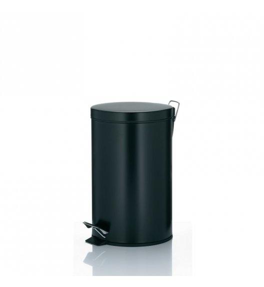 KELA Kosz na śmieci otwierany pedałem KILIAN czarny 12,0 l / FreeForm