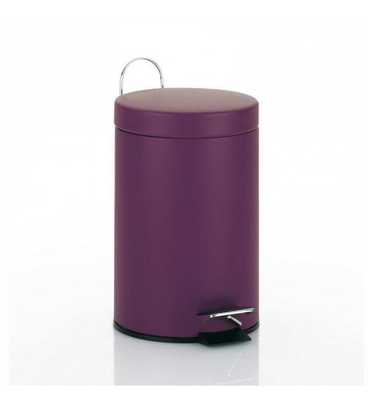 KELA Kosz na śmieci otwierany pedałem BERRY fioletowy, matowy 3,0 l / FreeForm