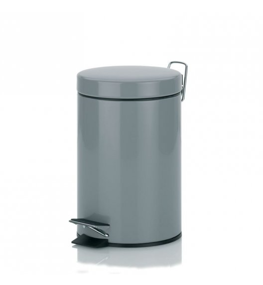 KELA Kosz na śmieci otwierany pedałem KOALA jasnoszary 3,0 l / FreeForm
