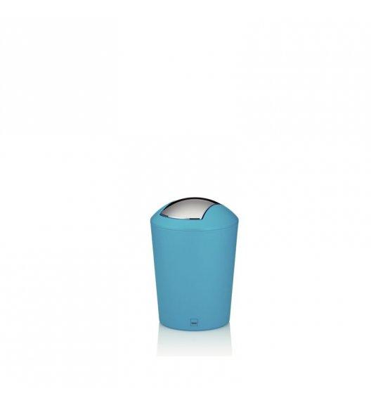 KELA Łazienkowy kosz na śmieci MARTA niebieski 1,7 l / FreeForm