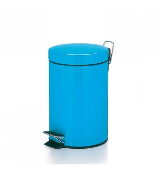 KELA Kosz na śmieci otwierany pedałem CALLAINA niebieski 3,0 l / FreeForm
