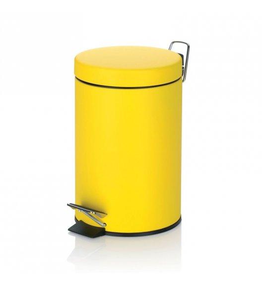 KELA Kosz na śmieci otwierany pedałem SOLE żółty 3,0 l / FreeForm