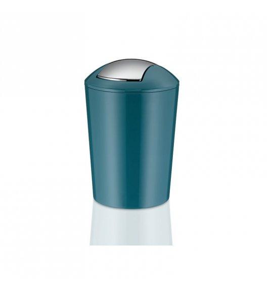 KELA Łazienkowy kosz na śmieci MARTA niebieski 5,0 l / FreeForm