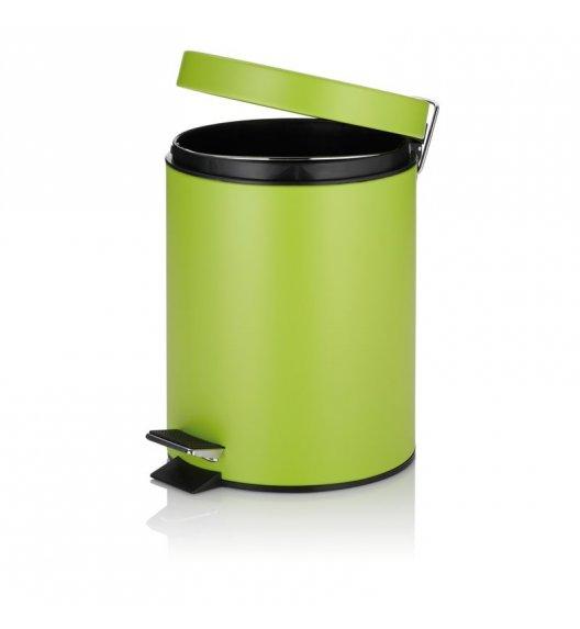 KELA Kosz na śmieci otwierany pedałem KIRA zielony, matowy 5,0 l / FreeForm