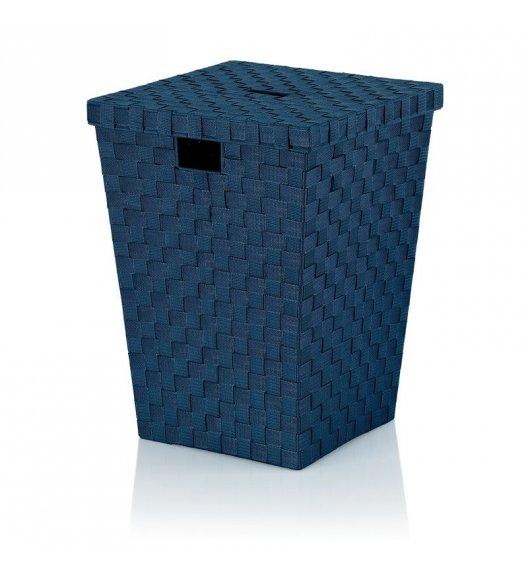 KELA Kosz z tworzywa sztucznego na pranie ALVARO ciemnoniebieski / FreeForm