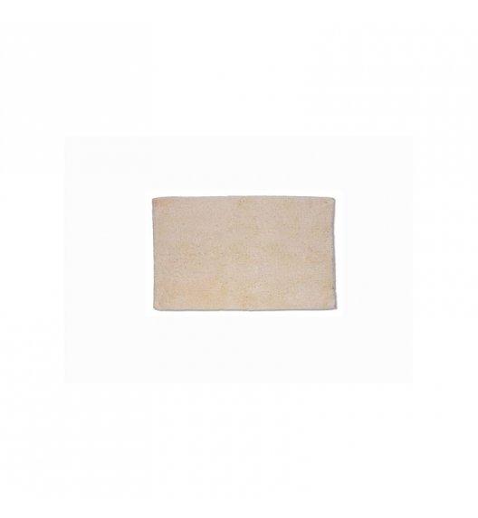 KELA Bawełniana mata łazienkowa LADESSA UNI beżowa 65 × 55 cm / FreeForm