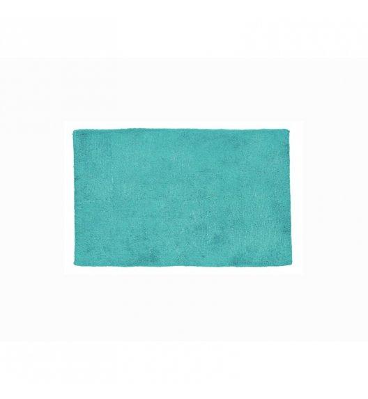 KELA Bawełniana mata łazienkowa LADESSA UNI turkusowa 65 × 55 cm / FreeForm