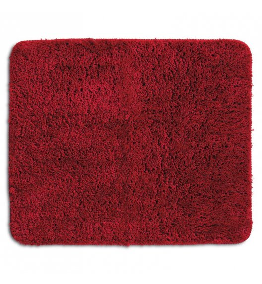 KELA Mata łazienkowa LIVANA czerwona 120 × 70 cm / FreeForm