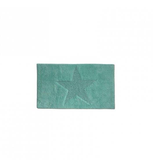 KELA Bawełniana mata łazienkowa LINDANO miętowa 65 × 55 cm / FreeForm