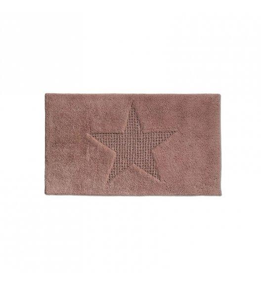 KELA Bawełniana mata łazienkowa LINDANO brązowa 120 × 70 cm / FreeForm