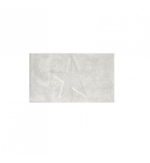 KELA Bawełniana mata łazienkowa LINDANO biała 65 × 55 cm / FreeForm