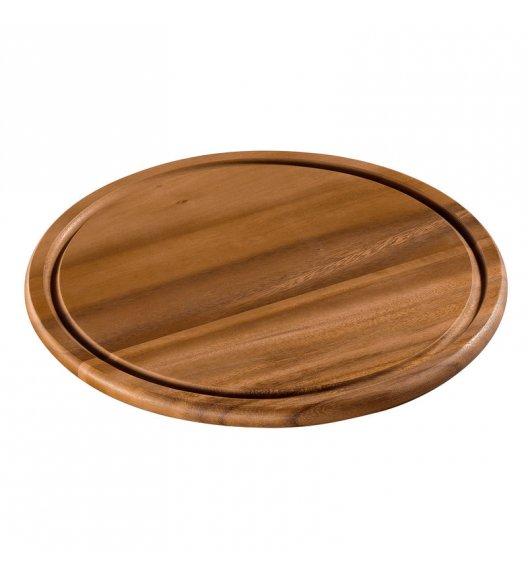 ZASSENHAUS Deska do serwowania z drewna akacjowego ⌀ 30 cm / FreeForm