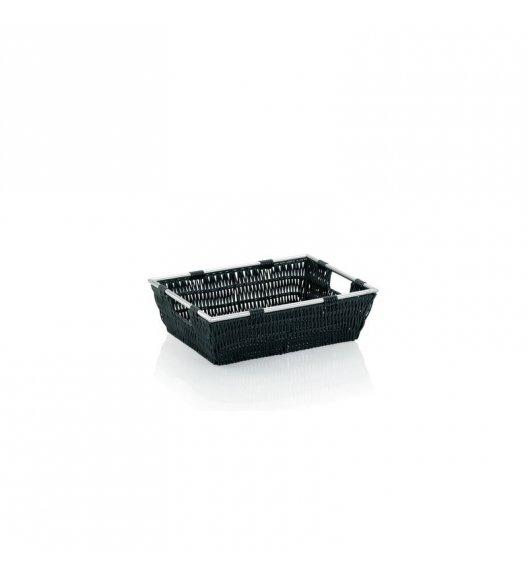 KELA Koszyk łazienkowy NOBLESSE czarny 33 x 25 x 10 cm / FreeForm