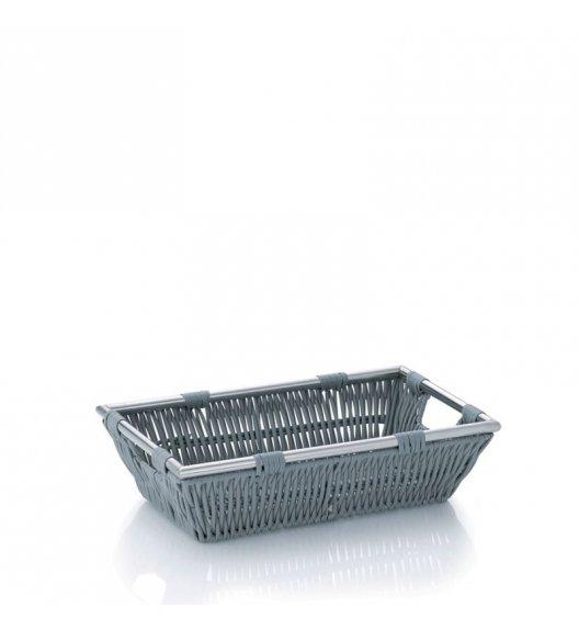 KELA Koszyk łazienkowy NOBLESSE jasnoszary 26 x 16 x 7 cm / FreeForm
