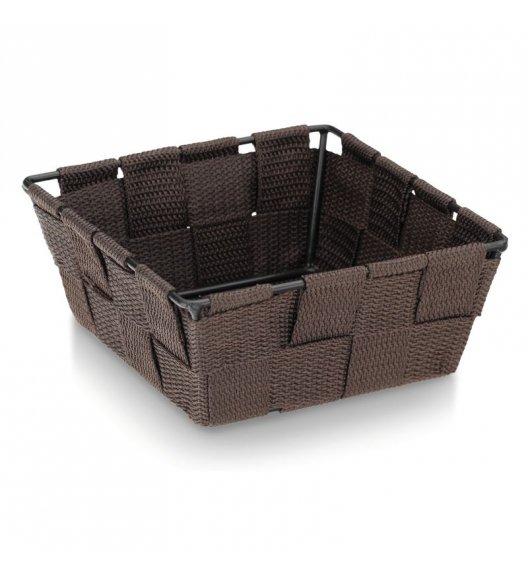 KELA Koszyk łazienkowy ALVARO brązowy 14 x 14 x 6 cm / FreeForm