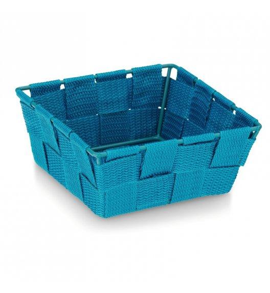 KELA Koszyk łazienkowy ALVARO turkusowy 14 x 14 x 6 cm / FreeForm