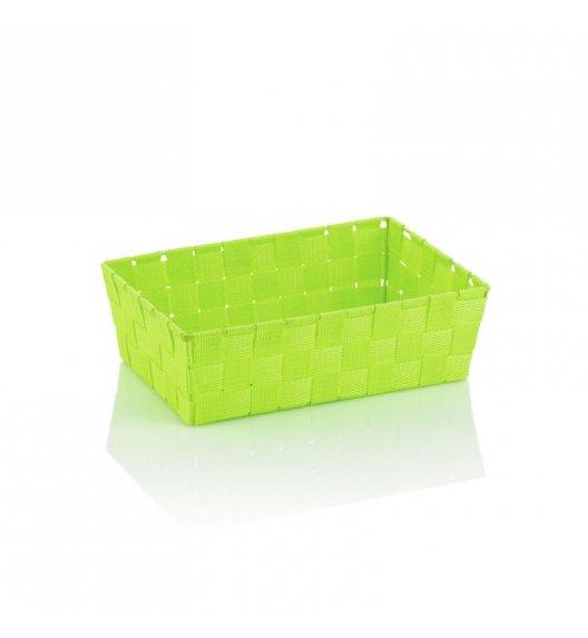 KELA Koszyk łazienkowy ALVARO zielony 29,5 x 20,5 x 8,5 cm / FreeForm