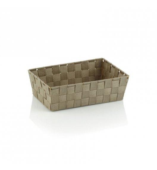 KELA Koszyk łazienkowy ALVARO brązowoszary 29,5 x 20,5 x 8,5 cm / FreeForm