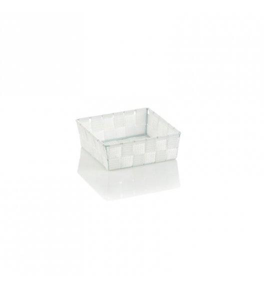 KELA Koszyk łazienkowy ALVARO biały 19 x 19 x 6 cm / FreeForm