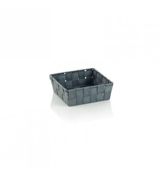 KELA Koszyk łazienkowy ALVARO szary 19 x 19 x 6 cm / FreeForm