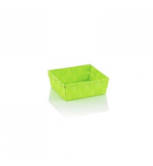 KELA Koszyk łazienkowy ALVARO zielony 19 x 19 x 6 cm / FreeForm