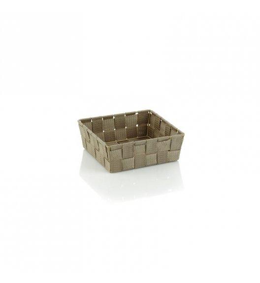 KELA Koszyk łazienkowy ALVARO brązowoszary 19 x 19 x 6 cm / FreeForm