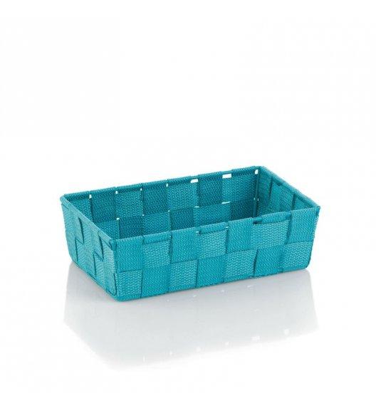 KELA Koszyk łazienkowy ALVARO turkusowy 23 x 15 x 6 cm / FreeForm