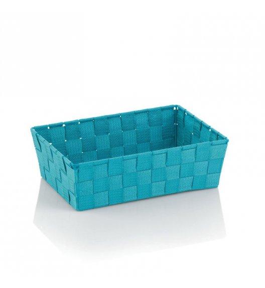 KELA Koszyk łazienkowy ALVARO turkusowy 29,5 x 20,5 x 8,5 cm / FreeForm