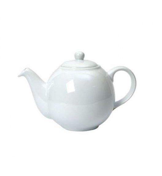 LONDON POTTERY Dzbanek do herbaty GLOBE 0,6 l biały / FreeForm
