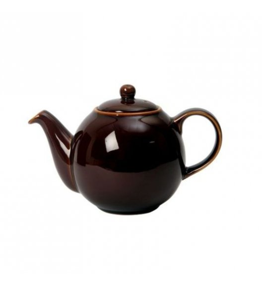 LONDON POTTERY Dzbanek do herbaty GLOBE 0,6 l czekoladowy / FreeForm