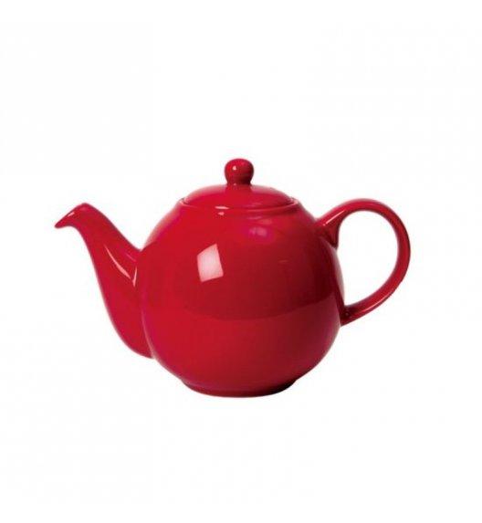 LONDON POTTERY Dzbanek do herbaty GLOBE 0,6 l czerwony / FreeForm