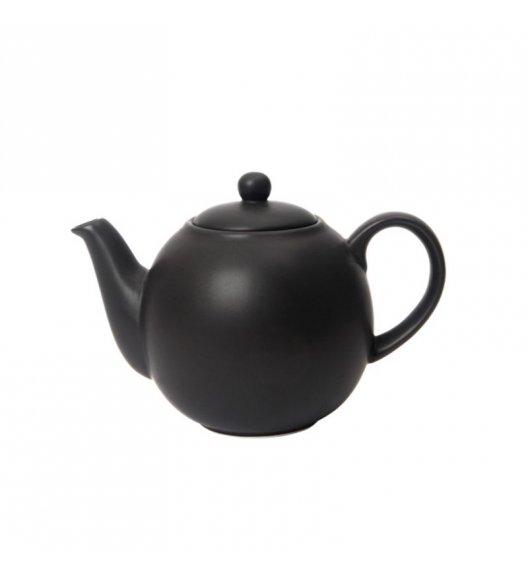 LONDON POTTERY Dzbanek do herbaty GLOBE 0,6 l czarny / FreeForm
