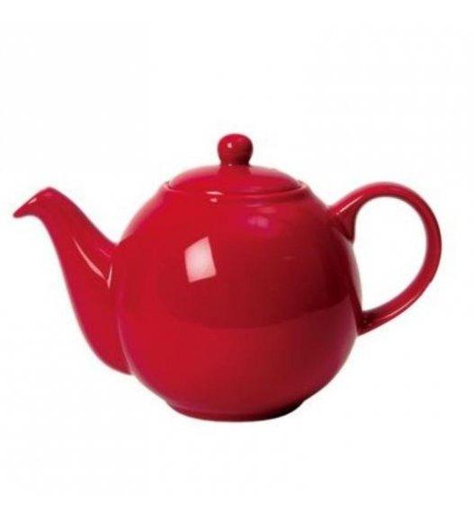 LONDON POTTERY Dzbanek do herbaty GLOBE 1,5 l czerwony / FreeForm