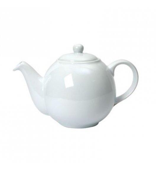 LONDON POTTERY Dzbanek do herbaty GLOBE 1,1 l biały / FreeForm