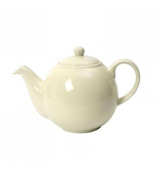 LONDON POTTERY Dzbanek do herbaty GLOBE 1,1 l kremowy / FreeForm