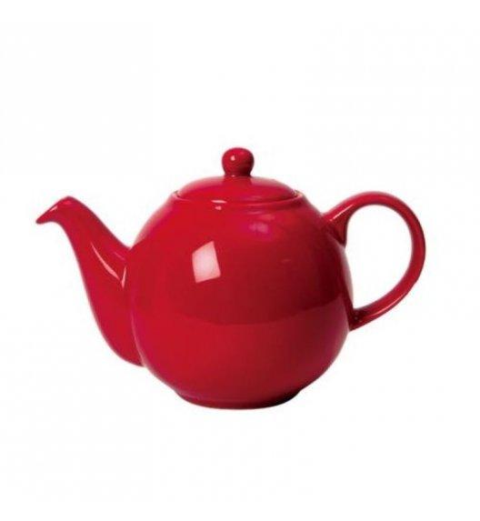 LONDON POTTERY Dzbanek do herbaty GLOBE 1,1 l czerwony / FreeForm