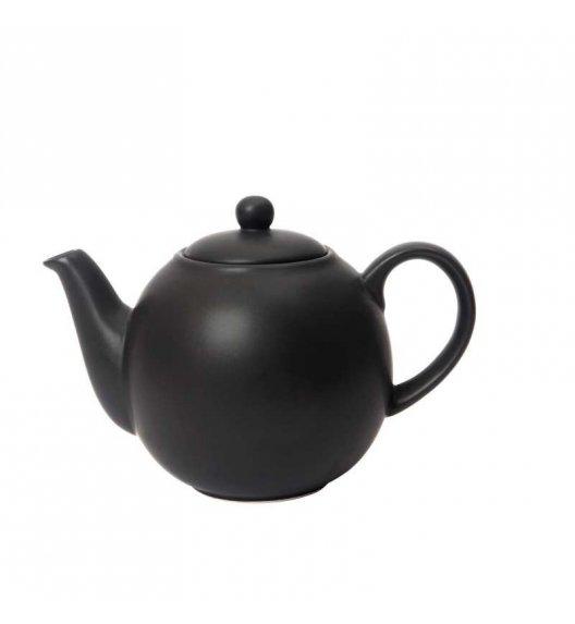 LONDON POTTERY Dzbanek do herbaty GLOBE 1,1 l czarny / FreeForm