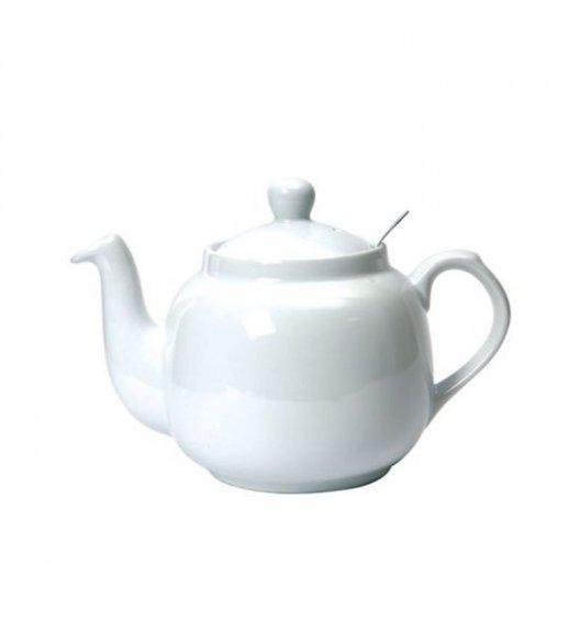 LONDON POTTERY Dzbanek do herbaty z filtrem FARMHOUSE FILTER 0,6 l biały / FreeForm