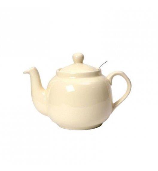 LONDON POTTERY Dzbanek do herbaty z filtrem FARMHOUSE FILTER 0,6 l kremowy / FreeForm