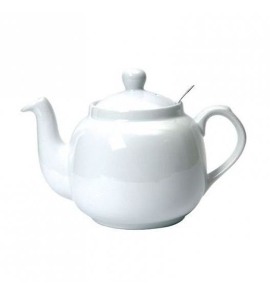 LONDON POTTERY Dzbanek do herbaty z filtrem FARMHOUSE FILTER 1,2 l biały / FreeForm