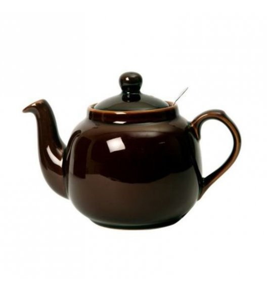 LONDON POTTERY Dzbanek do herbaty z filtrem FARMHOUSE FILTER 1,2 l czekoladowy / FreeForm