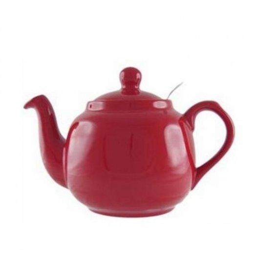 LONDON POTTERY Dzbanek do herbaty z filtrem FARMHOUSE FILTER 1,2 l czerwony / FreeForm